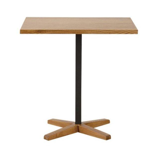 関家具 ダイニングテーブル トフィ 無垢天板 W600×D700×H700mm