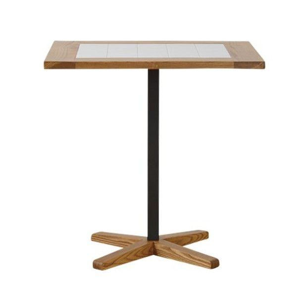 関家具 ダイニングテーブル トフィ タイル天板 W600×D700×H700mm