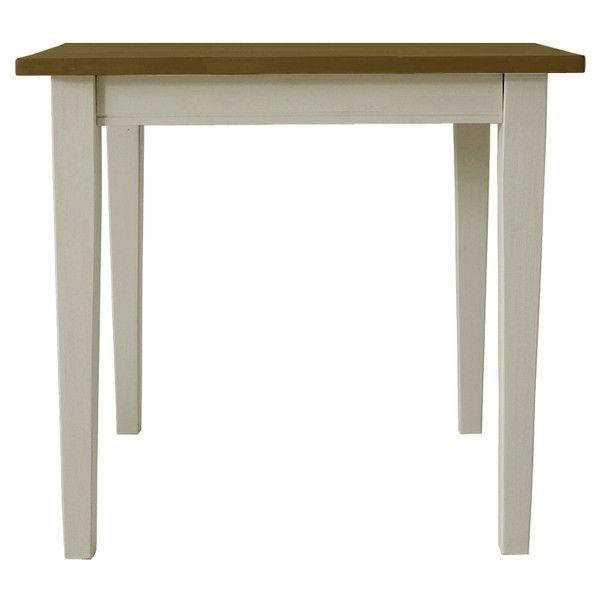関家具 ダイニングテーブル クレソン ホワイト/カフェ W750×D750×H700mm