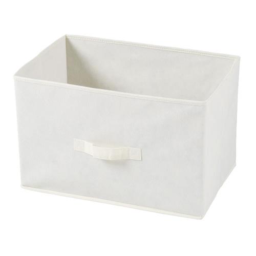 不二貿易 不織布製インナーボックス アイボリー 3個セット