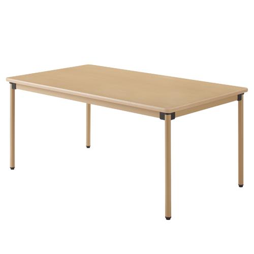 タック販売 ユニバーサルテーブル 160×90cm メープル