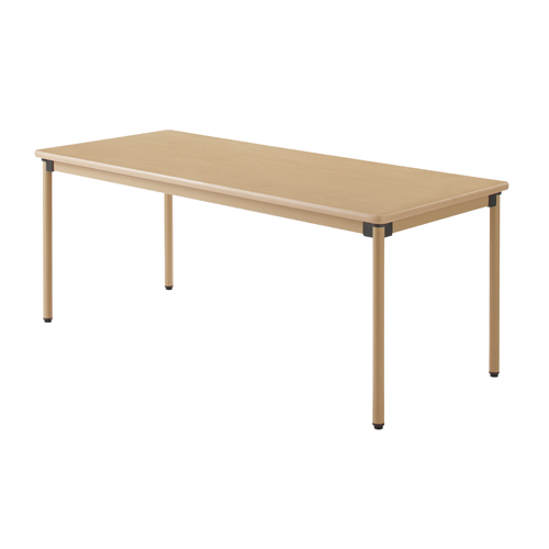 タック販売 ユニバーサルテーブル 180×75cm メープル