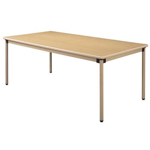タック販売 ユニバーサルテーブル 180×90cm メープル