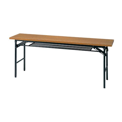 タック販売 会議テーブル D450 チーク KM1845TT