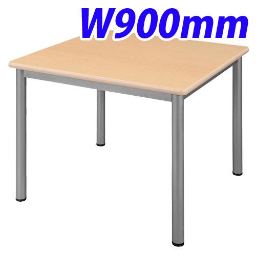タック販売 ミーティングテーブル W900×D900 ナチュラル TL9090-NN