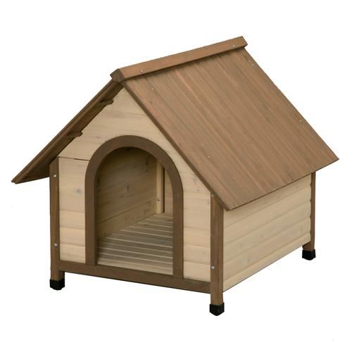 アイリスオーヤマ 犬舎 ウッディ犬舎 ブラウン WDK-900