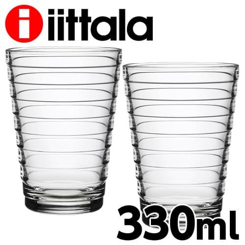iittala イッタラ Aino Aalto アイノアアルト タンブラー 330ml クリア 2個セット