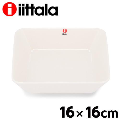 iittala イッタラ Teema ティーマ スクエアプレート 16×16cm ホワイト