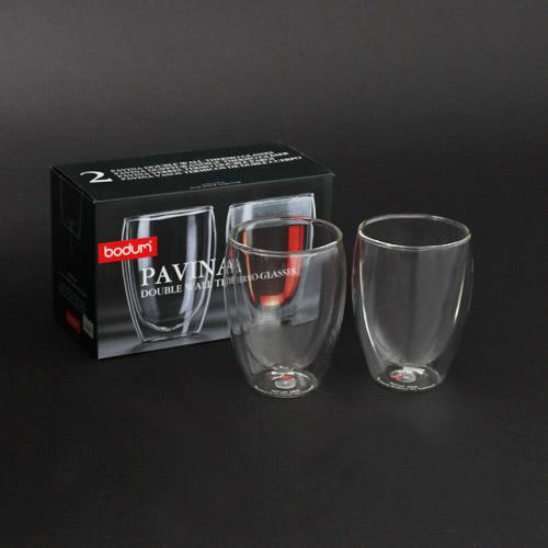 BODUM PAVINA ダブルウォールグラス 350ml 2個セット 4559-10