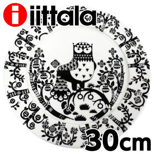 iittala イッタラ Taika タイカ プレート 30cm ブラック