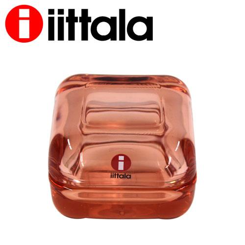 iittala Vitriini ビトリーニ ジュエリーケース 60×60mm サーモンピンク
