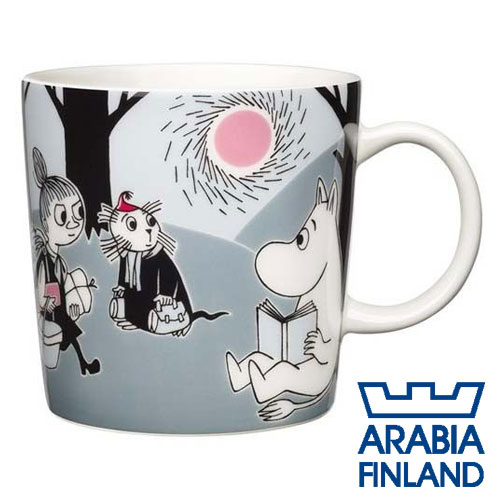 Arabia Moomin ムーミン マグカップ アドベンチャームーブ 300ml