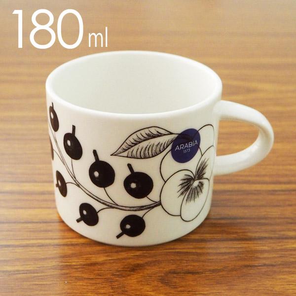 Arabia Paratiisi パラティッシ コーヒーカップ 180ml ブラック