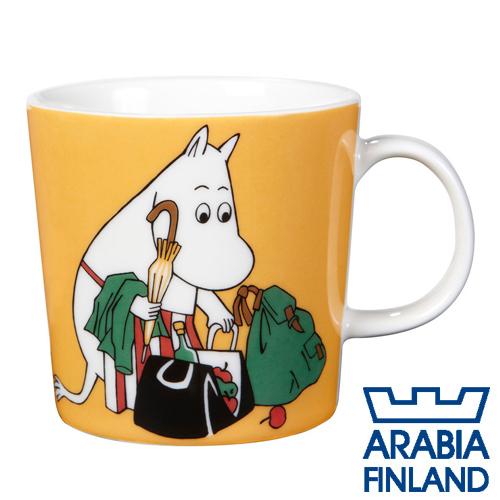 Arabia Moomin ムーミン マグカップ ムーミンママ 300ml アプリコット