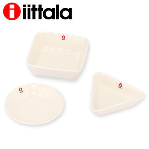 iittala イッタラ Teema ティーマ ミニサービング ホワイト 3点セット Mini Serving Set