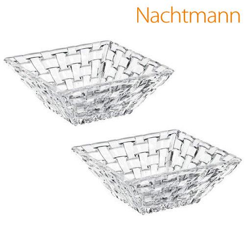 Nachtmann ボサノバ スクエア ボウル 12cm 2個セット 89694