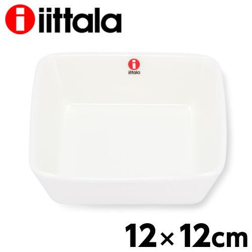 iittala イッタラ Teema ティーマ スクエアプレート 12×12cm ホワイト
