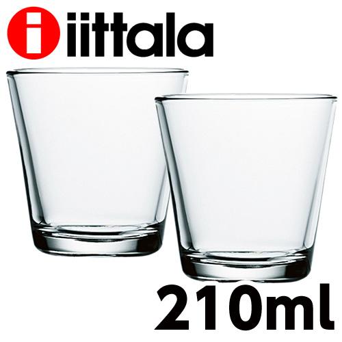 iittala イッタラ Kartio カルティオ タンブラー 210ml クリア 2個セット