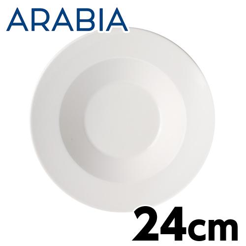 ARABIA アラビア Koko ココ ディーププレート 24cm ホワイト