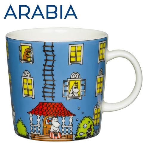 ARABIA アラビア Moomin ムーミン マグ ムーミンハウス 300ml Moomin House マグカップ