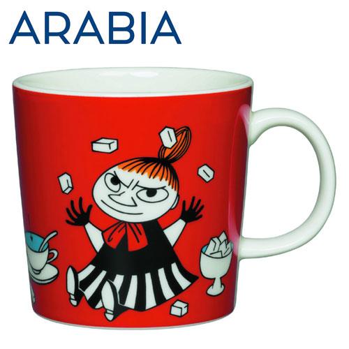 ARABIA アラビア Moomin ムーミン マグ リトルミィ レッド 300ml Little My Red マグカップ