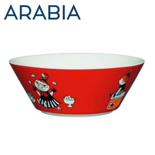 Arabia Moomin ムーミン ボウル リトルミィ 450ml レッド