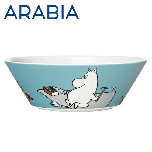 Arabia Moomin ムーミン ボウル ムーミントロール 450ml ターコイズ