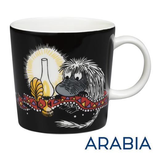 ARABIA アラビア Moomin ムーミン マグ ご先祖様 ブラック 300ml マグカップ