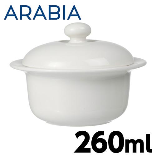 【売切れ御免】Arabia アラビア アルクティカ 蓋付きシュガーボウル 260ml