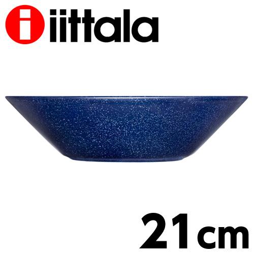 iittala Teema ティーマ ディープ プレート 21cm ドッテドブルー