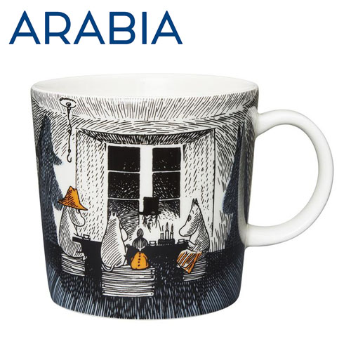 Arabia Moomin ムーミン マグカップ True to its origins 300ml