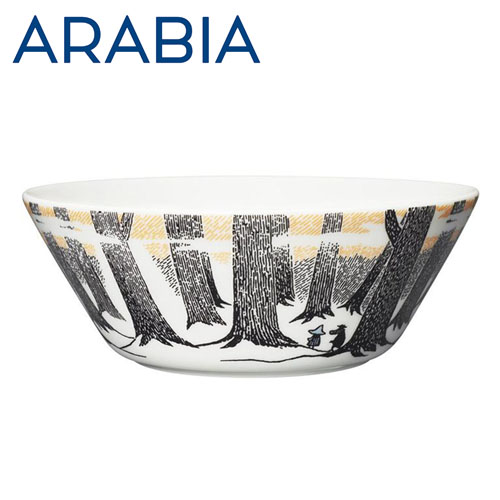 Arabia Moomin ムーミン ボウル True to its origins 450ml
