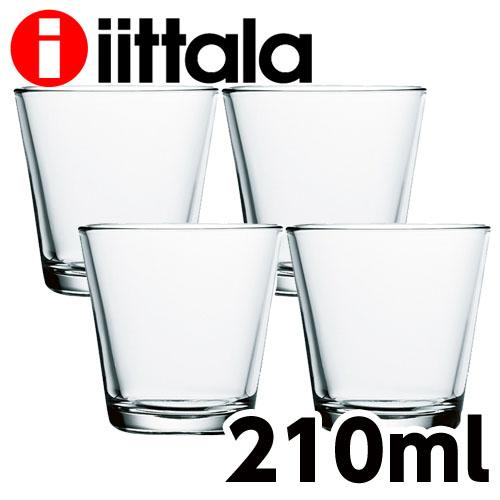 iittala イッタラ Kartio カルティオ タンブラー 210ml クリア 4個セット