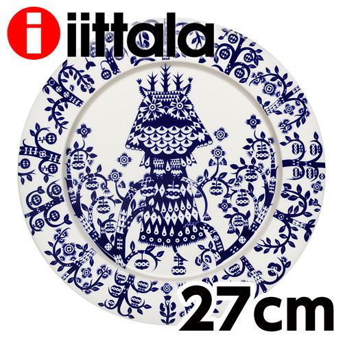 iittala Taika タイカ プレート 27cm ミッドナイトブルー