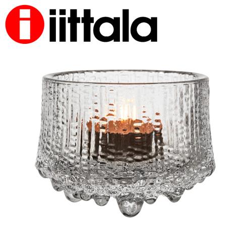 iittala イッタラ ウルティマツーレ Ultima Thule キャンドルホルダー 65mm クリア