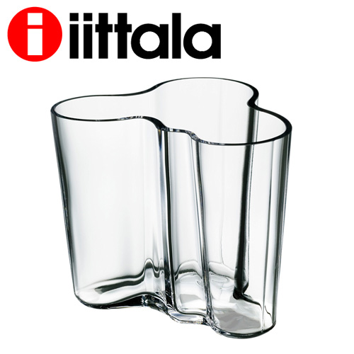iittala Alvar aalt アルヴァアアルト ベース 95mm クリア