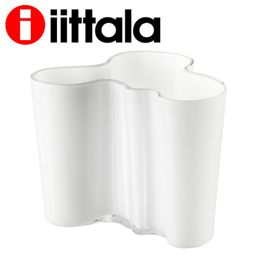 iittala イッタラ Alvar Aalto アルヴァアアルト ベース 120mm オパールホワイト