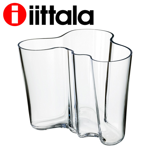 iittala イッタラ Alvar Aalto アルヴァアアルト ベース 160mm クリア