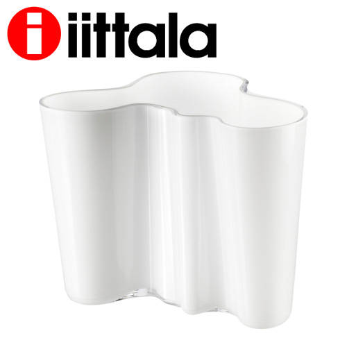 iittala イッタラ Alvar Aalto アルヴァアアルト ベース 160mm オパールホワイト