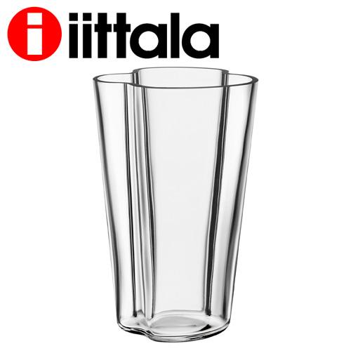 iittala Alvar aalt アルヴァアアルト ベース 220mm クリア
