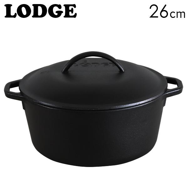 LODGE ロジック キッチンオーヴン ループハンドル 10-1/4インチ 26cm CAST IRON DUTCH OVEN L8DOL3