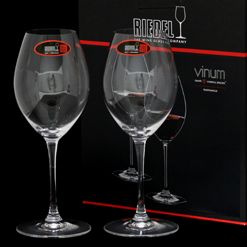 RIEDEL ワイングラス ヴィノム テンプラニーリョ 2個セット 6416/31