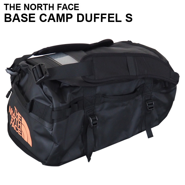THE NORTH FACE バックパック BASE CAMP DUFFEL S ベースキャンプ ダッフル 50L ブラック×メタリックコッパー ボストンバッグ ダッフルバッグ