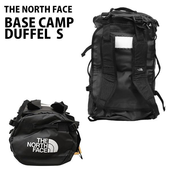 THE NORTH FACE バックパック BASE CAMP DUFFEL S ベースキャンプ ダッフル 50L ブラック ボストンバッグ ダッフルバッグ