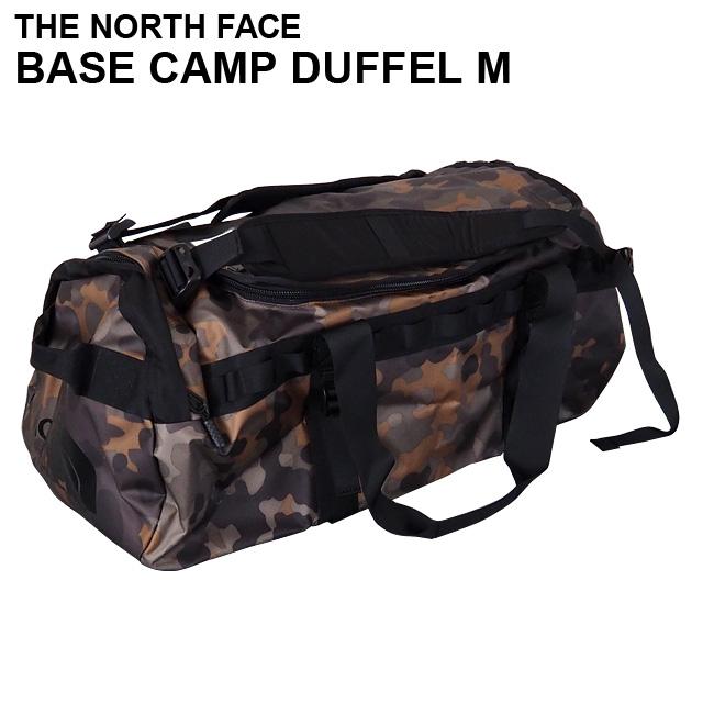 THE NORTH FACE バックパック BASE CAMP DUFFEL M ベースキャンプ ダッフル 71L ニュートープグリーンマクロフレックカモプリント ボストンバッグ ダッフルバッグ