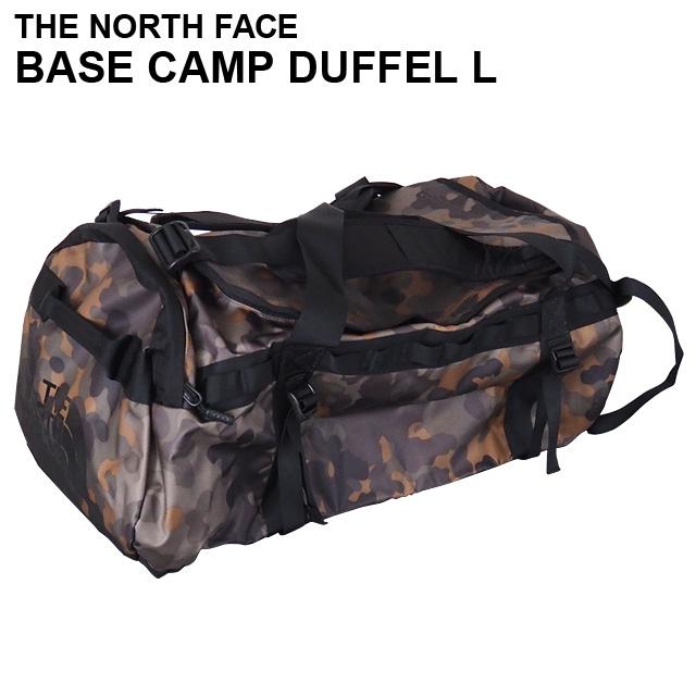 THE NORTH FACE バックパック BASE CAMP DUFFEL L ベースキャンプ ダッフル 95L ニュートープグリーンマクロフレックカモプリント ボストンバッグ ダッフルバッグ