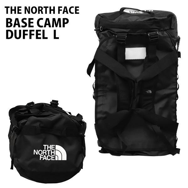 THE NORTH FACE バックパック BASE CAMP DUFFEL L ベースキャンプ ダッフル 95L ブラック ボストンバッグ ダッフルバッグ T93ETQJK3