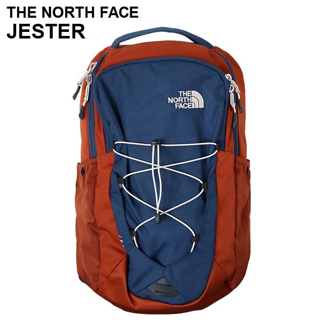 THE NORTH FACE バックパック JESTER ジェスター シャディブルー×ジンジャーブレッドブラウン T93KV75RT