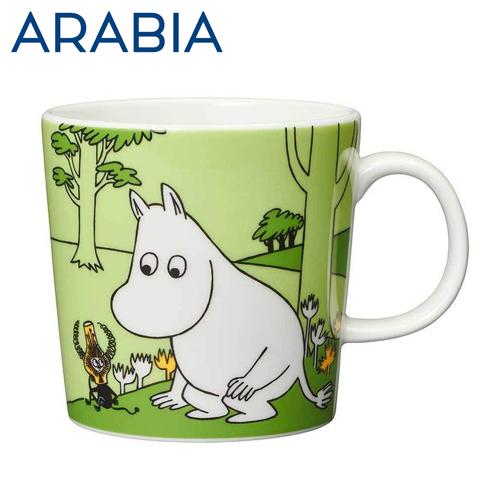 ARABIA アラビア Moomin ムーミン マグ ムーミン グラスグリーン 300ml Moomintroll grass-green マグカップ