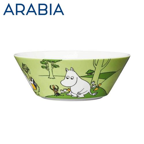 Arabia Moomin ムーミン ボウル ムーミン グラスグリーン 450ml